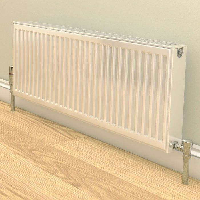 Stelrad Compact - Type 22 Double Panel Convector Radiator (K2) - 600mm x 1200mm