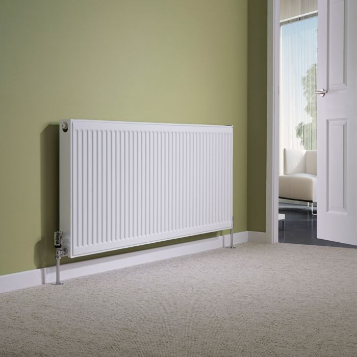Milano Compact - Type 21 Double Panel Plus Radiator - 600mm x 1400mm