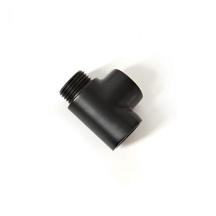 Milano - Black Dual Fuel T Piece