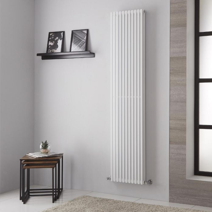Lazzarini Way - Grosseto V - White Designer Radiator - 1806mm x 392mm