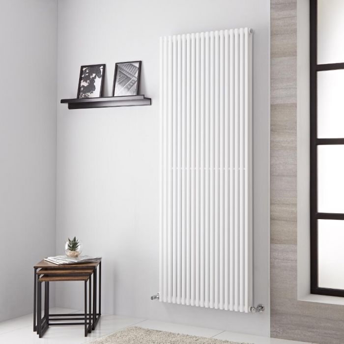 Lazzarini Way - Grosseto V - White Designer Radiator - 1806mm x 680mm