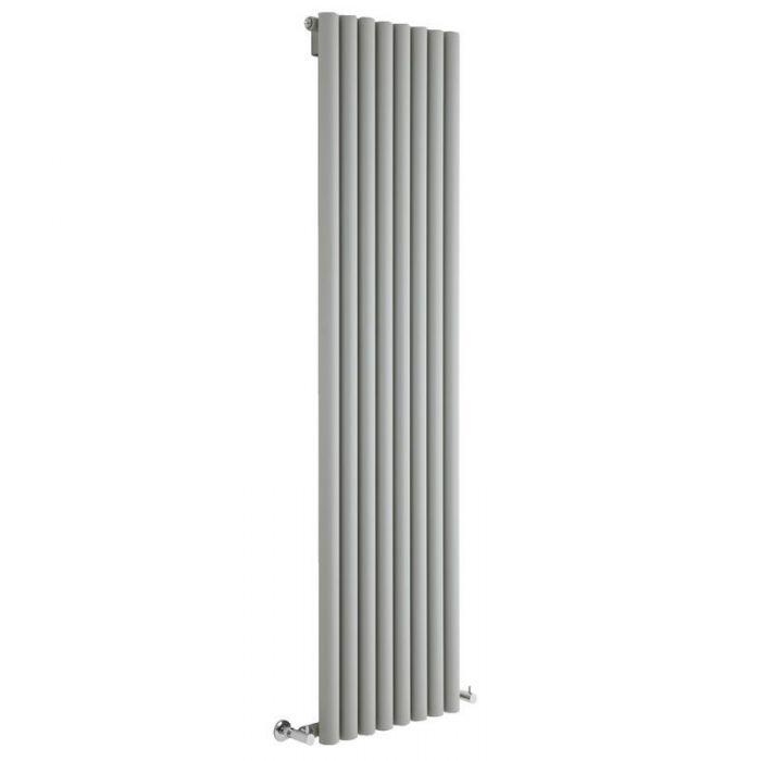 Milano Java - Silver Vertical Designer Radiator - Various Sizes