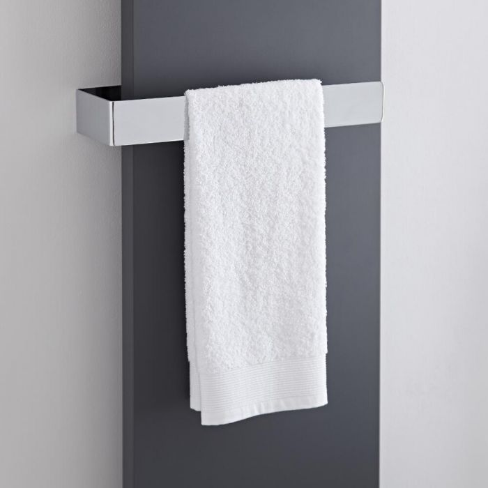Milano Wall Mounted Towel Rail - 420mm x 60mm