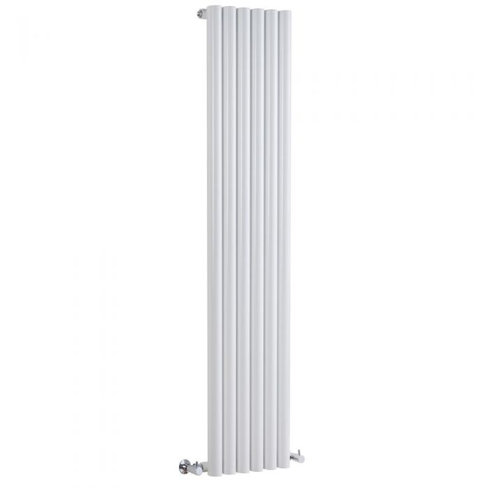 Milano Java - White Vertical Designer Radiator - Various Sizes