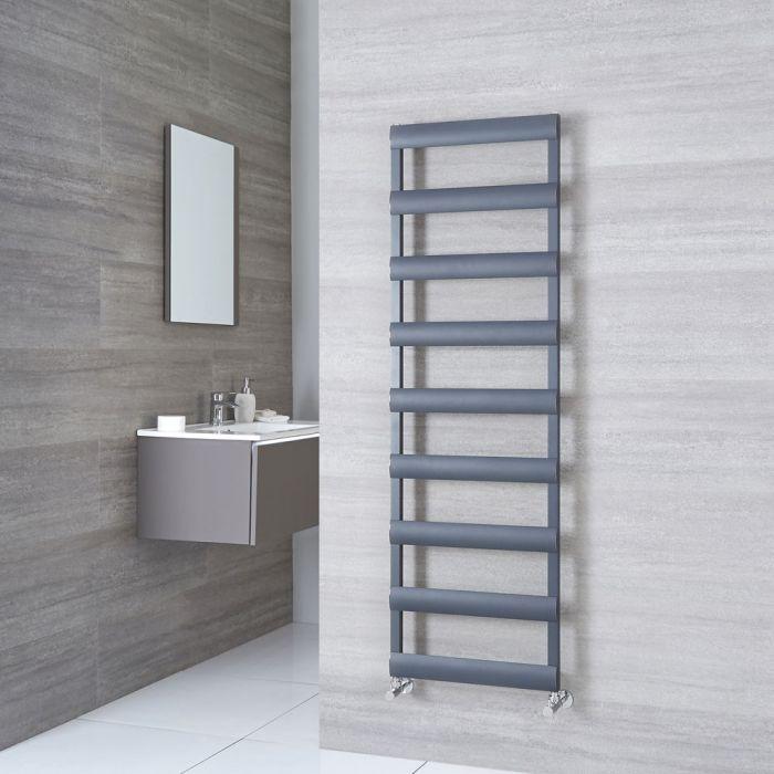 Milano Passo - Anthracite Aluminium Designer Towel Rail 1590mm x 500mm
