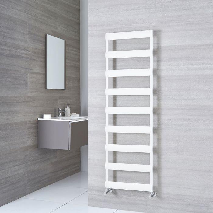 Milano Passo - White Aluminium Designer Towel Rail 1590mm x 500mm