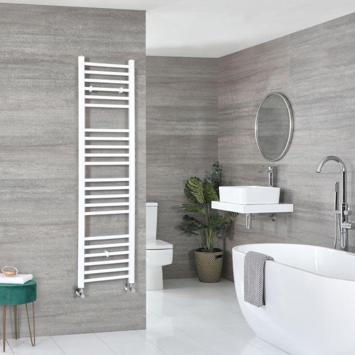 Milano Ive - Flat White Heated Towel Rail 1600mm x 400mm