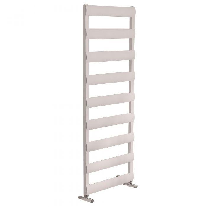 Milano Passo - White Aluminium Designer Towel Rail - Various Sizes