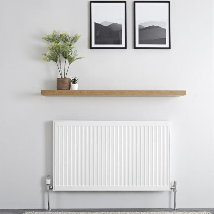 Milano Compact - Type 11 Single Panel Radiator - 600mm x 1000mm
