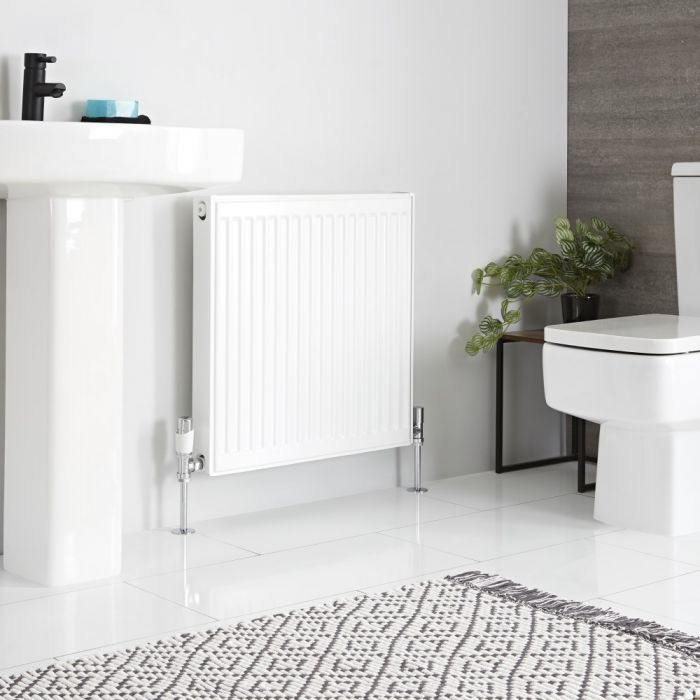 Milano Compact - Type 21 Double Panel Plus Radiator - 600mm x 600mm