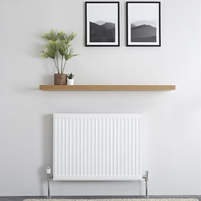 Milano Compact - Type 21 Double Panel Plus Radiator - 600mm x 800mm