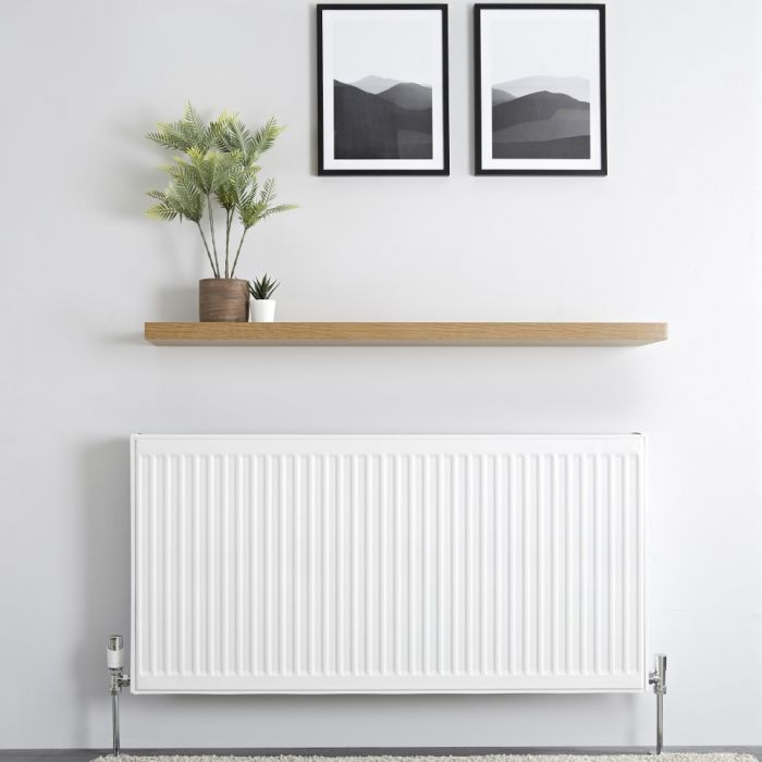 Milano Compact - Type 22 Double Panel Radiator - 600mm x 1200mm