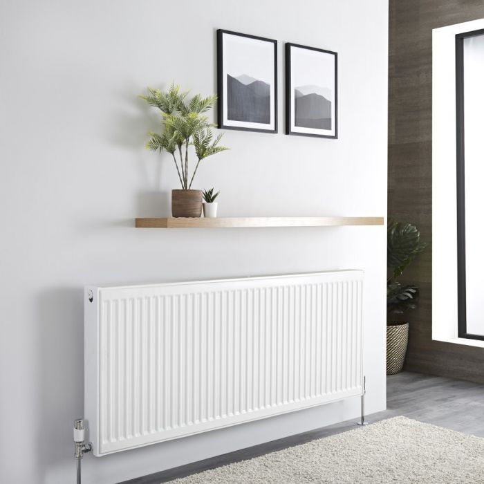 Milano Compact - Type 22 Double Panel Radiator - 600mm x 1400mm