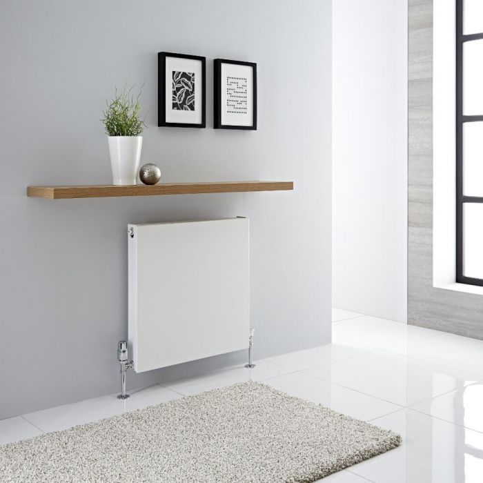 Milano Mono - Double Flat Panel Plus Convector Radiator - 600mm x 600mm