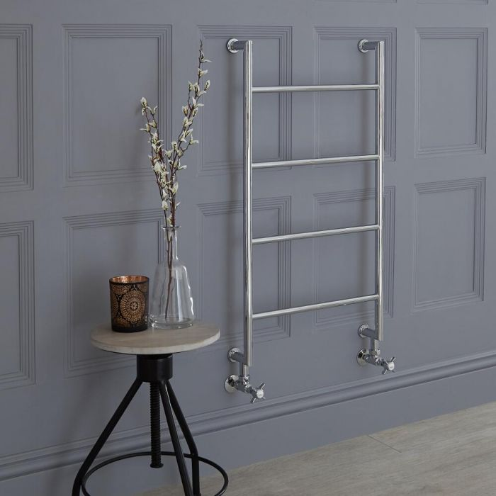 Milano Derwent - Traditional Heated Towel Rail 900mm x 495mm