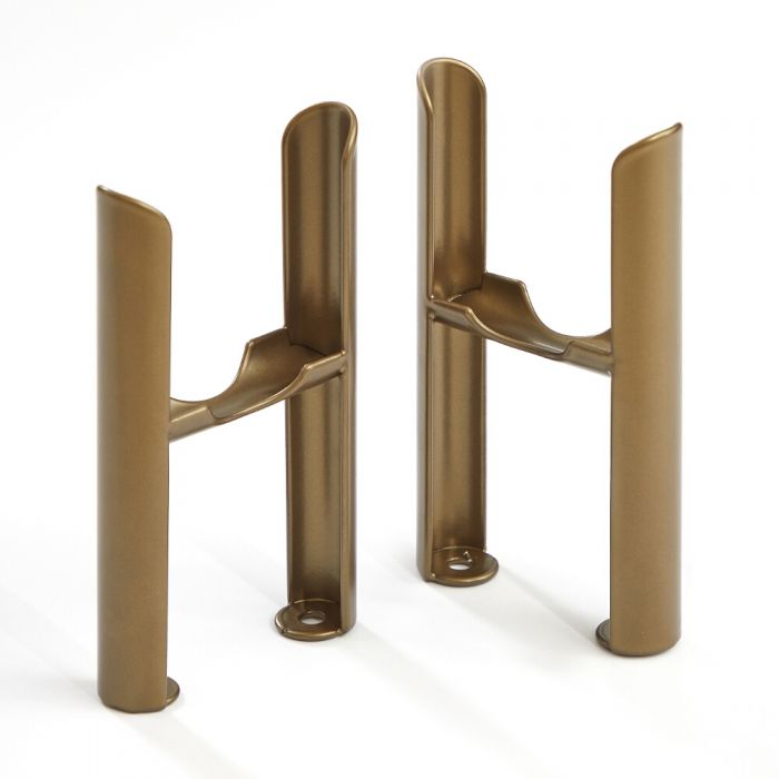 Milano Windsor - Traditional 3 Column Windsor Radiator Feet – Metallic Bronze