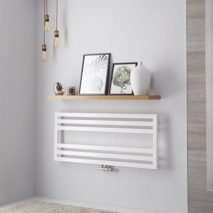 Lazzarini Way - Urbino - White Designer Heated Towel Rail - 500mm x 1200mm