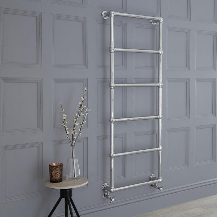 Milano Derwent - Traditional Heated Towel Rail 1550mm x 600mm
