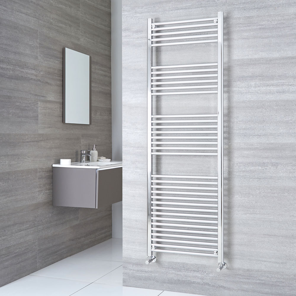 Kudox - Premium Flat Heated Towel Rail 1800mm x 600mm