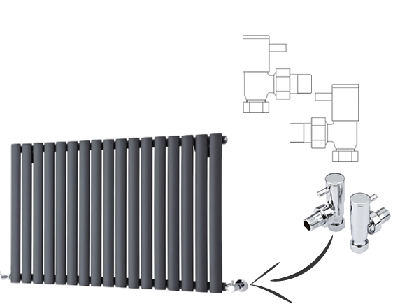 Middle Connection Radiator