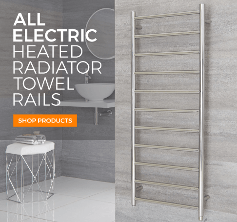 all electric heated towel rail