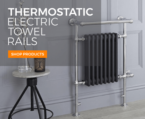 thermostatic electric towel rails