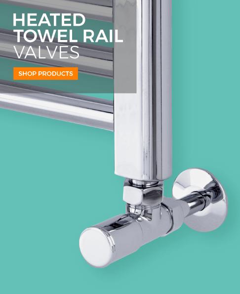 heated towel rail valves