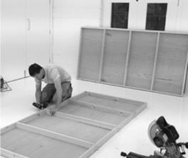 Building studio set