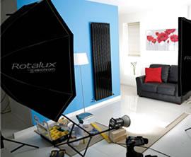 Studio radiator shot
